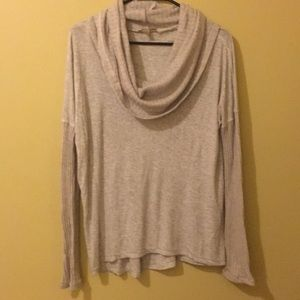 Cozy cowl neck Anthropologie sweater